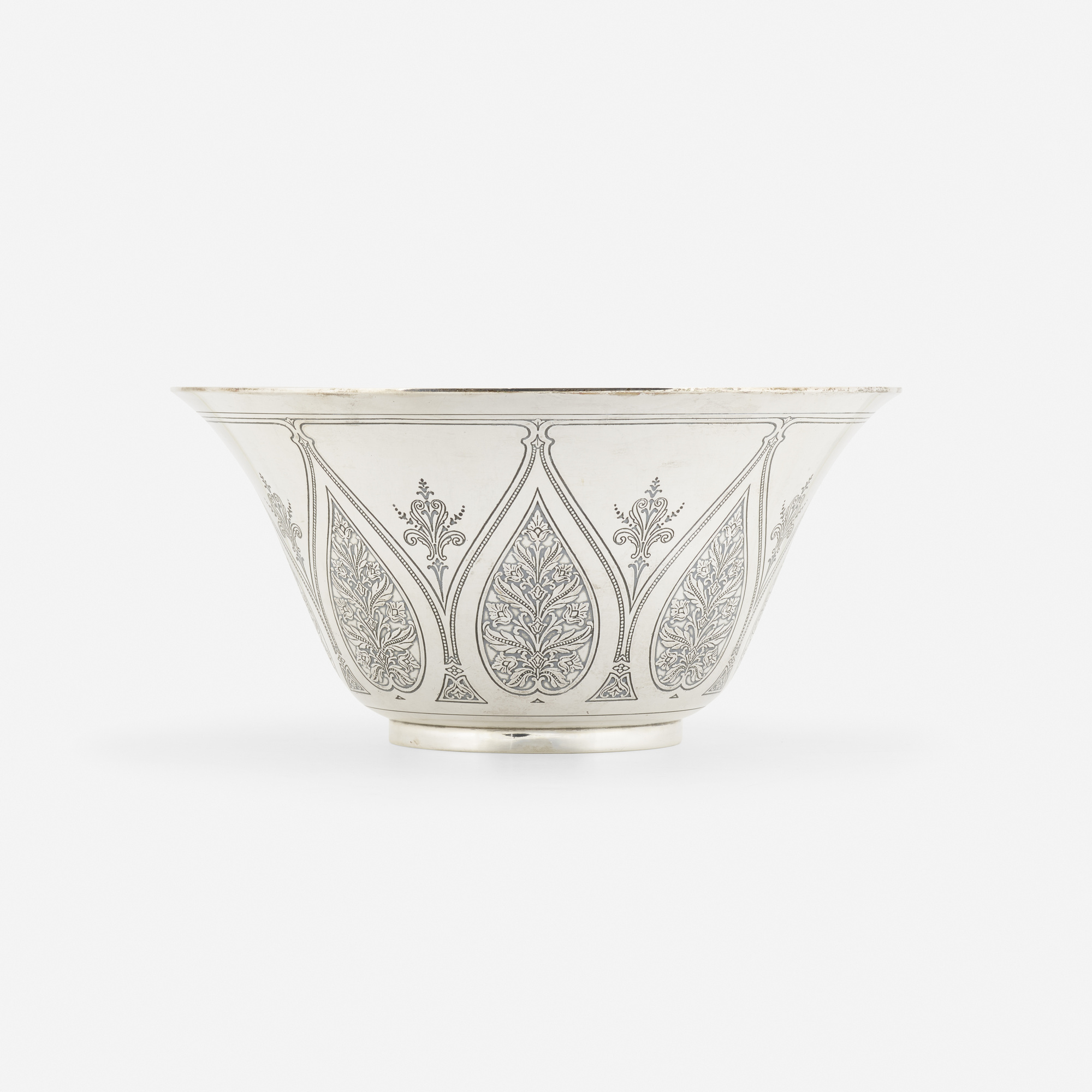 166 Tiffany Co Flared Bowl With Floral Design Object Home Day 2 30 April 2020 Auctions Rago Auctions