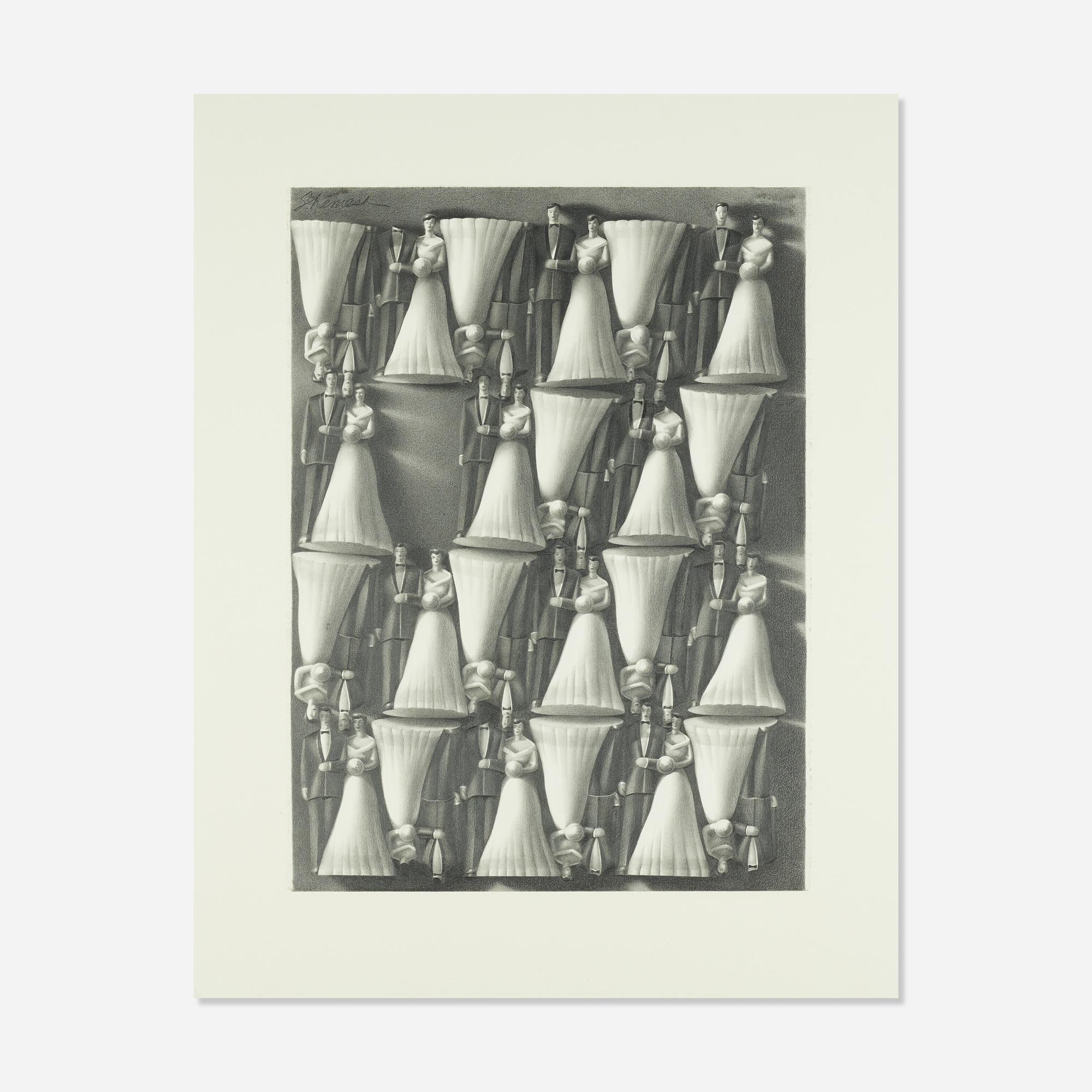 Lorraine Shemesh Art: 290: LORRAINE SHEMESH, Brides And Grooms