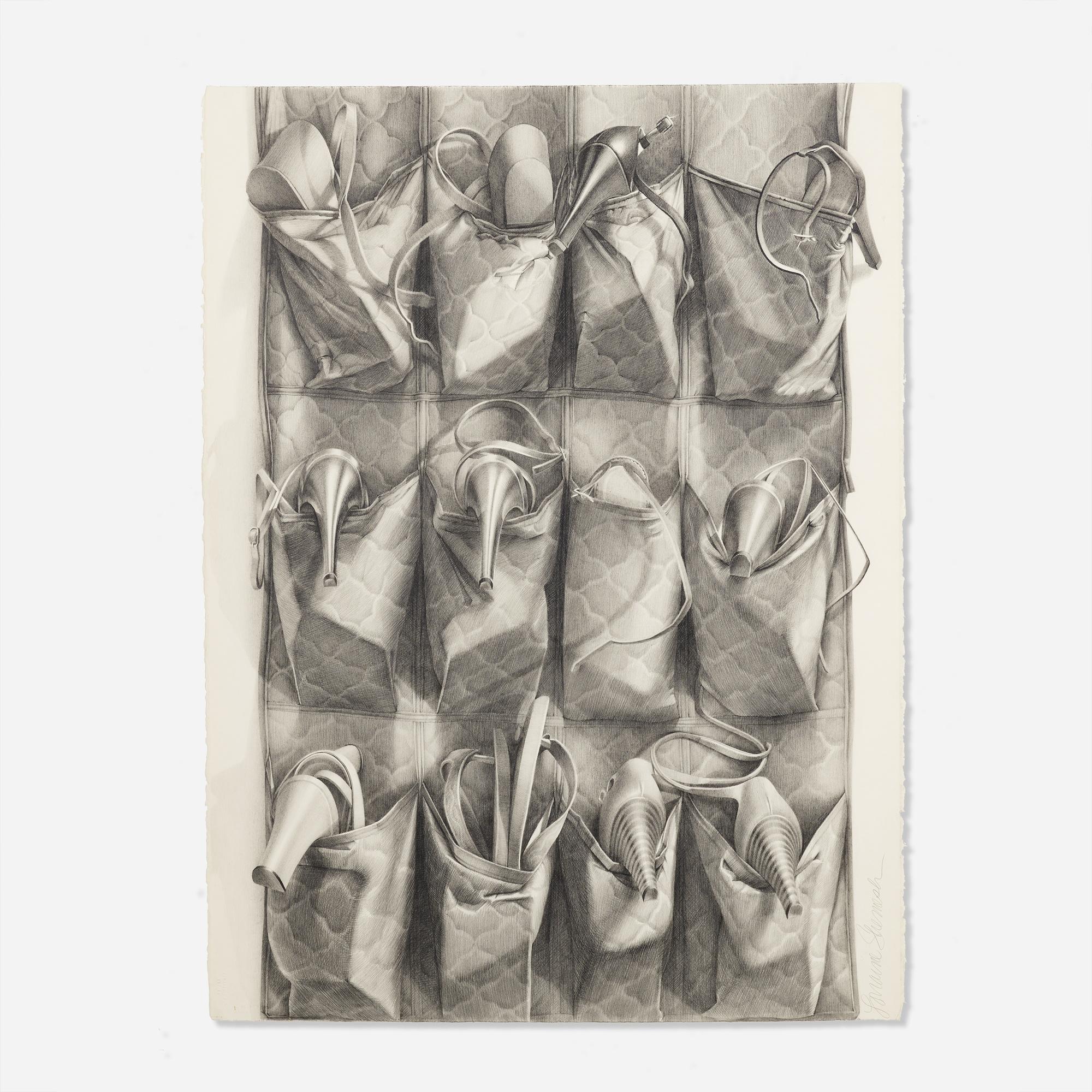 Lorraine Shemesh Art: 292: LORRAINE SHEMESH, Shoe Bag #1