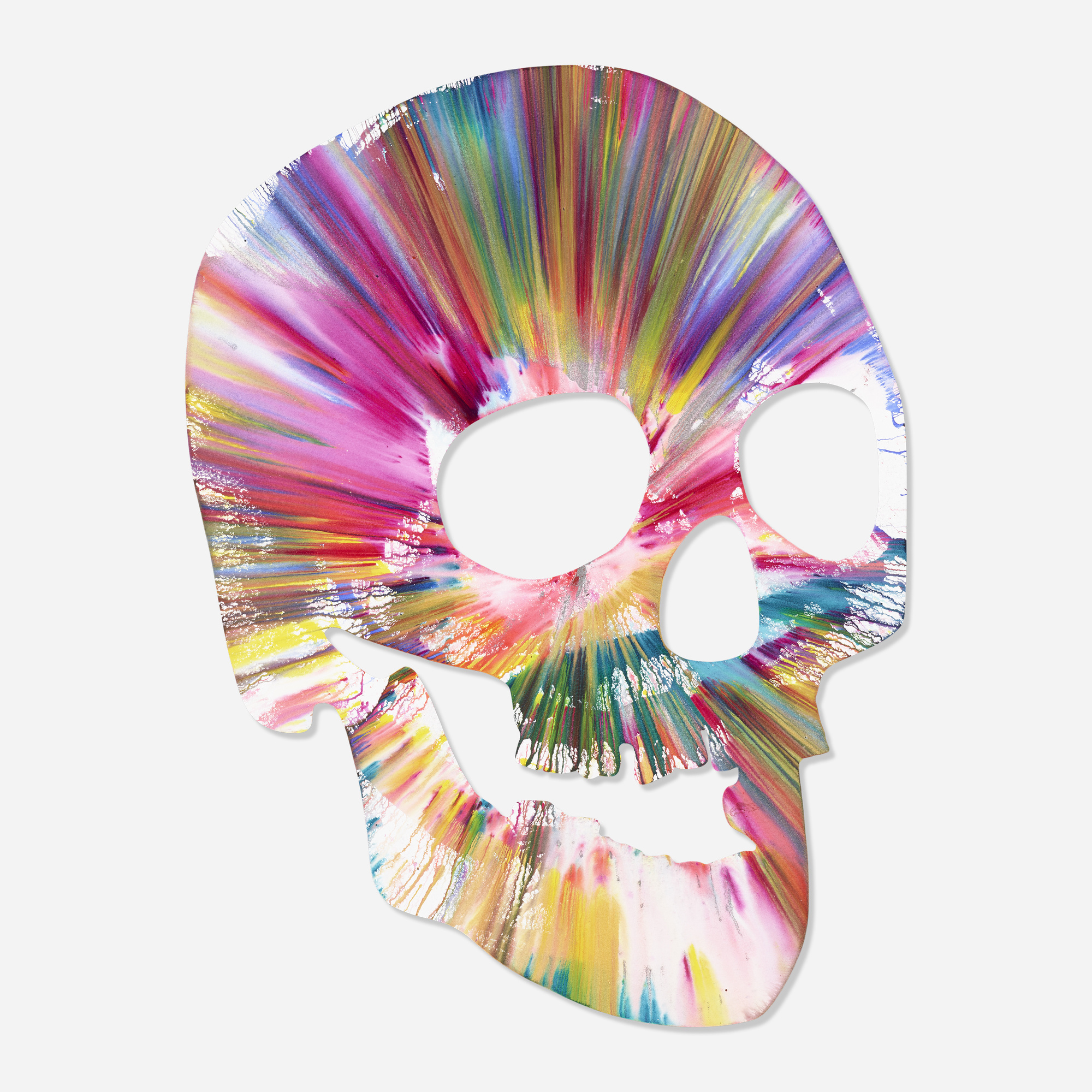 329 Damien Hirst Skull Spin Painting Prints Multiples 26 February 2020 Auctions Rago Auctions